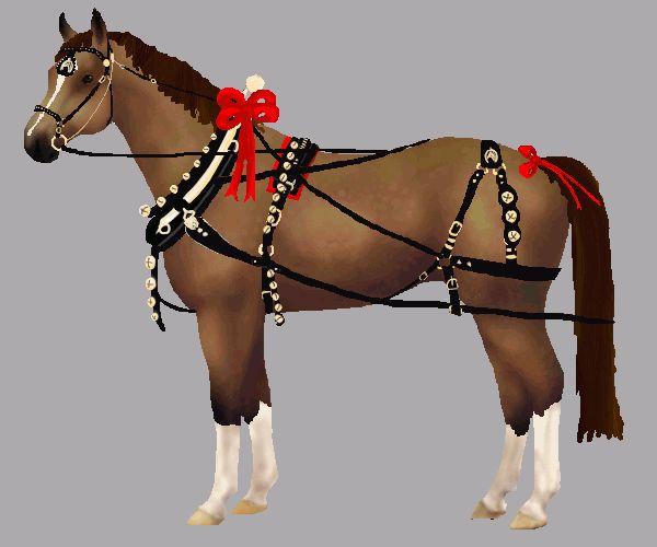 Christmas Horse Dress Up