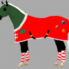 Christmas horsey